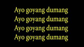 Cita Citata - Goyang Dumang With Lyrics