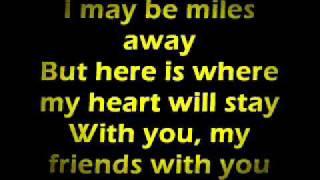 Farewell To You My Friend Lyrics