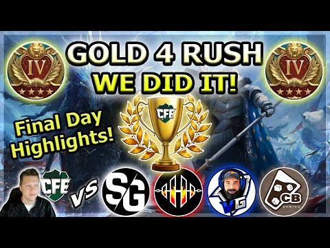RAID Shadow Legends | Gold 4 Rush! | Final Day | WE DID IT!