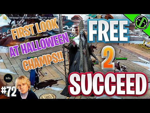 Halloween Skins Released! First Look & Some Arena | Free 2 Succeed - EPISODE 72