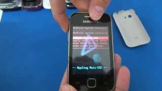 Como Formatar Samsung Galaxy Y S5360 e S5367    Hard Reset, Desbloquear. G-Tech