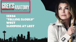 "Grey's Anatomy Soundtrack - ""West"" by Sleeping At Last (13x04)"