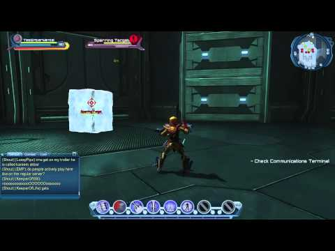 DC Universe Online Test Server: Mental - Telekinesis Tree Overview