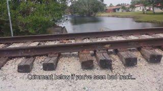 Train on Bad Track