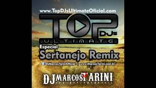 CD Top Djs Ultimate Especial Sertanejo Remix Produção Dj Marcos Tarini