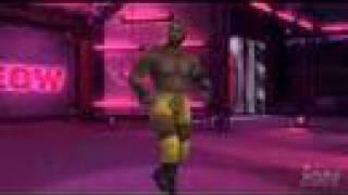 WWE Smackdown vs RAW 2008 featuring ECW - Marcus Cor Von