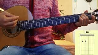 Como tocar Adiós Amor en Guitarra Christian Nodal