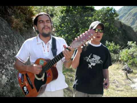 "Bob Marley's ""Redemption Song"" performed by locals in Banos, Ecuador"