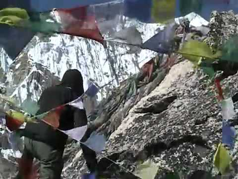 View from Kala Patthar, Everest Base Camp Trek