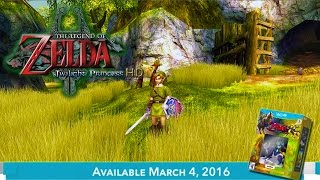 The Legend Of Zelda Twilight Princess HD Gameplay Trailer! + WOLF LINK AMIIBO