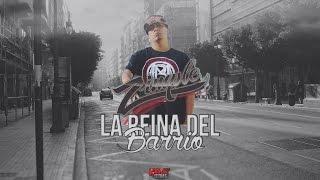 La reina del Barrio - Zimple ✖ Cristael (VideoLyrics/Letra Y Descarga)
