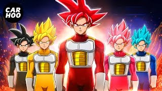 GOKU SAIYAN RANGERS 【 Dragon Ball Super & Power Rangers Parody 】