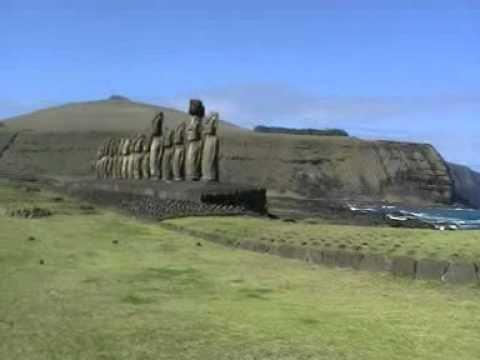 Viaje por Sudamerica di Giacomo Sanesi. Isla de Pascua (CIL). 01334 – ahu tongariki