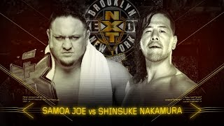 Samoa Joe and Shinsuke Nakamura's rivalry reaches its boiling point at NXT TakeOver: Brooklyn II