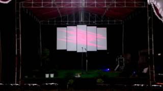 Tes background panggung
