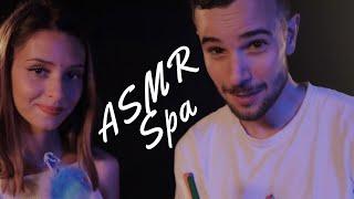 ASMR FRANÇAIS | SOIN À QUATRE MAINS 🙌🏻 🙌🏻  (feat. COLOMBA ASMR)