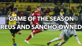 Dortmund 3-2 Bayern Munich Post Match Analysis | Bundesliga Review