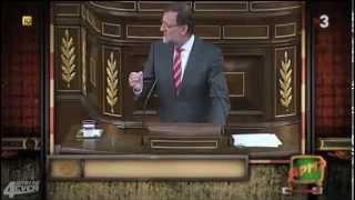 """Rajoy: """"Yo creo en Cataluña más que ustedes"""" (APM?)"""