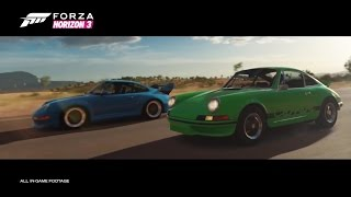 Forza Horizon 3 - Porsche Car Pack DLC Trailer (2017)
