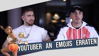 YOUTUBER an EMOJIS erraten! | mit MOIS!