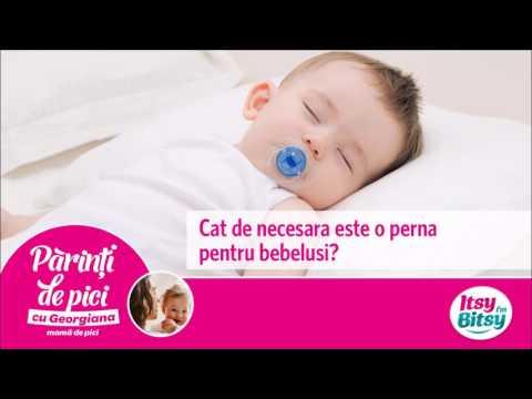 Cat de necesara este o perna pentru bebelusi?