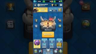 Clash Royale: Abriendo la caja mágica y 2 cartas épicas (:o)