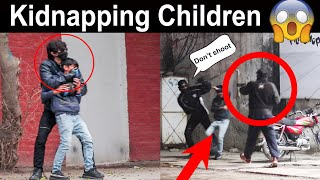 Kidnapping Children | Social Experiment | Gone wrong