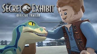 LEGO Jurassic World: The Secret Exhibit | Official Trailer | Jurassic World width=