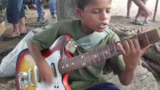 Menino Emerson - Menino de rua Pepe Moreno