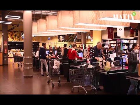Video : Coronavirus : Les supermarchés Carrefour s'adaptent pour des courses sans risque