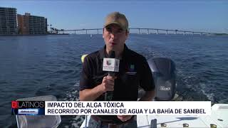 Cobertura Crisis Algas Tóxicas