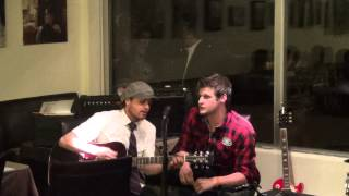 Harley and Jamie Live at Savoury and Sweet - All my Loving cover Beatles