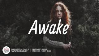 Awake - Freestyle Rap Instrumental 2017 (Aggressive Piano Beat 2017)