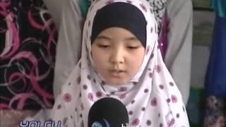 Minik Özbek Kızımızdan Muhteşem Arapça Ezgi
