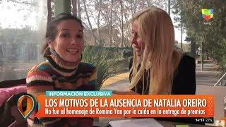 Los motivos de la ausencia de Natalia Oreiro en #ViveRo