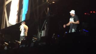 The Monster Tour Detroit 8/23 Eminem Evil Deeds / Rap God intro