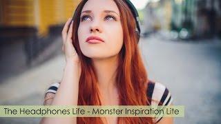 #Наушники Monster Inspiration Lite ☆ Beautiful red-haired girl and headphones