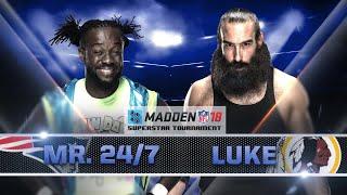 Kofi Kingston vs. Luke Harper: Segunda ronda del torneo Madden 18