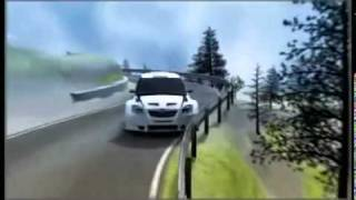 Robert Kubica crash 3D simulation  2011 Rally Ronde di Andora