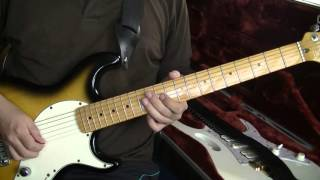 Eric Johnson style blues lick - from the Red House intro solo (with Mike Stern)