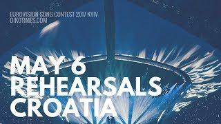 oikotimes.com: Croatia's Second Rehearsal Eurovision 2017