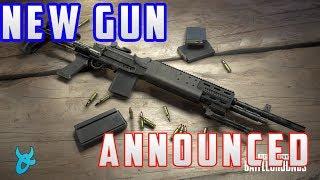 PUBG NEW GUN ANNOUNCED! MK14 EBR! - PLAYERUNKNOWNS BATTLEGROUNDS NEWS