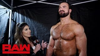 Drew McIntyre's final word on The Shield: Raw Exclusive, March 11, 2019