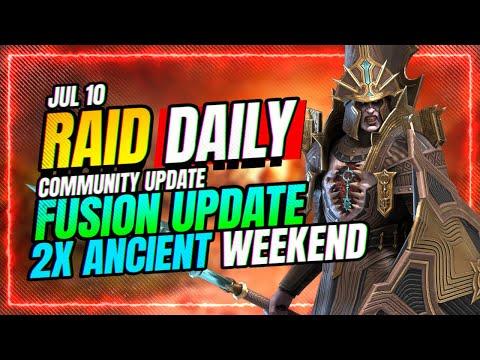 2x Ancient Weekend Update! | RAID Shadow Legends