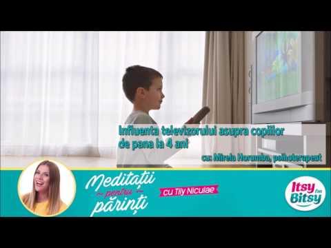 Influenta televizorului asupra copiilor