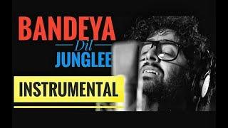 Bandeya - Intrumental - Karaoke| Arijit Singh | Dil Junglee |