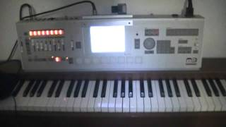 Hardcore dance compose with Korg M3