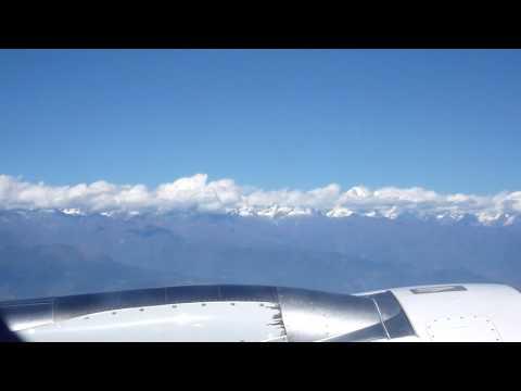 Mountain View Leaving Kathmandu