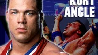 """WWE: Kurt Angle WWE Theme Song -- """"Medal"""" -- You Suck chants! (HD) - 2017 Hall of Fame Theme"""