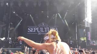 Sepultura, Roots Bloody Roots live Rock Fest🤘2016 Montebello,Québec🤘